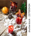 mulled wine flavored with... | Shutterstock . vector #237005434