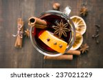 Mulled Wine And Spices On...