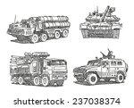 ������, ������: Military machines sketch drawings