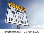 "the ""quiet zone   no engine... | Shutterstock . vector #237041623"