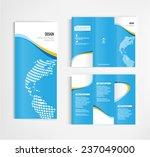 brochure template design vector | Shutterstock .eps vector #237049000