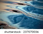 Macro Texture Whimsical Waves...