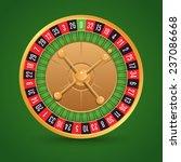 realistic casino roulette...   Shutterstock . vector #237086668