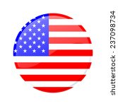 button flag of america | Shutterstock .eps vector #237098734
