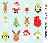 new year 2015. christmas... | Shutterstock .eps vector #237118540