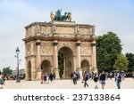paris  france   july 14 2014 ... | Shutterstock . vector #237133864