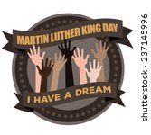 Martin Luther King Day Badge...