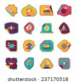 space stickers banner flat...