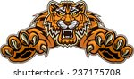 tiger jump | Shutterstock .eps vector #237175708