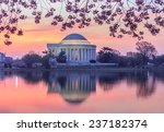 View Of The Jefferson Memorial...