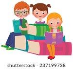stock vector cartoon... | Shutterstock .eps vector #237199738