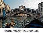 venice april 13  a gondola on...   Shutterstock . vector #237205336