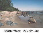 baltic sea beach with rocks and ... | Shutterstock . vector #237224830