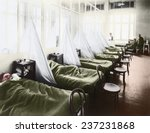 an influenza ward at the u s... | Shutterstock . vector #237231868