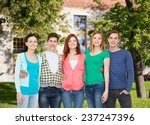 education and people concept  ... | Shutterstock . vector #237247396