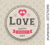 happy valentine's day...   Shutterstock .eps vector #237276340