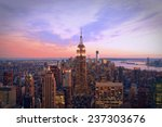 New York City At Twilight