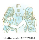 vector illustration isolated on ... | Shutterstock .eps vector #237324004