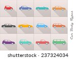 different types of car body... | Shutterstock .eps vector #237324034