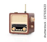 3d illustration  country radio... | Shutterstock . vector #237332623