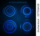 futuristic hud interface hi... | Shutterstock .eps vector #237336418