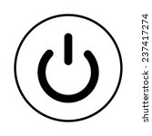 on off switch icon | Shutterstock . vector #237417274