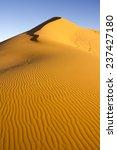 Sand Mountain At Erg Chebbi...
