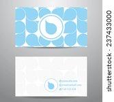 modern blue pattern business...   Shutterstock .eps vector #237433000