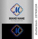 m symbol logo letter | Shutterstock .eps vector #237434134