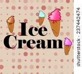 ice cream | Shutterstock .eps vector #237442474