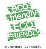 Eco Friendly Grunge  Style...
