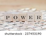 power word background on wood... | Shutterstock . vector #237453190