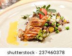 quail on the meat salad | Shutterstock . vector #237460378