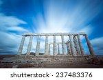 Temple Of Poseidon At Cape...