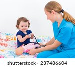 photo of an adorable baby and... | Shutterstock . vector #237486604