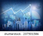 city office skyscrapers and an... | Shutterstock . vector #237501586