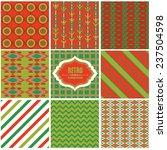 vector illustration of a set of ... | Shutterstock .eps vector #237504598