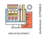 vector illustration of web...