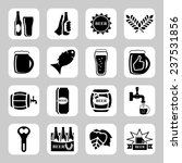 beer vector icon set   bottle ... | Shutterstock .eps vector #237531856