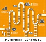 step by step infographics... | Shutterstock .eps vector #237538156