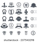first place winner awards icons ... | Shutterstock .eps vector #237543298
