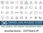 travel icons vector set  great...