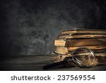 pile of old antique and... | Shutterstock . vector #237569554