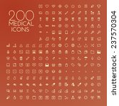 health care   medical icon set | Shutterstock .eps vector #237570304