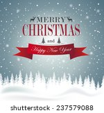 christmas and new year... | Shutterstock .eps vector #237579088