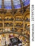 paris  france  on april 30 ... | Shutterstock . vector #237597238
