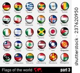 flags of all countries in the... | Shutterstock .eps vector #237620950