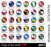 flags of all countries in the... | Shutterstock .eps vector #237620956
