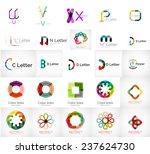 set of various universal... | Shutterstock .eps vector #237624730