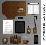 stationery set design modern | Shutterstock .eps vector #237648010